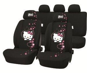 Preisvergleich Produktbild Hello Kitty HK-INN-701 Autoschonbezug-Set, 9-teilig