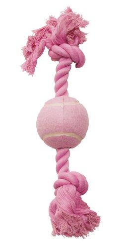 Hagen Dogit Rosa cordón algodón Hueso Pelota Tenis