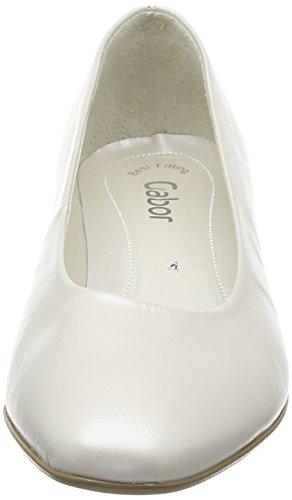 Gabor 05.160.60 Damen Pumps Weiß (60 off-white+Absatz)