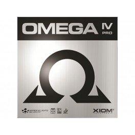 Tischtennis-Belag Xiom Omega IV Pro, neu, max (rot)