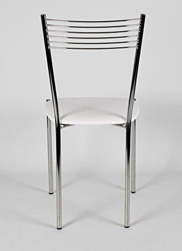 Set 4 sedie per cucina e sala da pranzo moderne, con ...