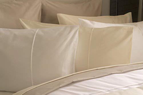 450 Fadenzahl Pima Baumwolle Stil Kissenbezug in Oyster -