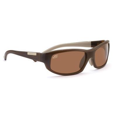 Serengeti Amedeo Sonnenbrille, Farbe Objektiv-Almond Polarized Drivers, Objektiv-Kategorie 3, Braun