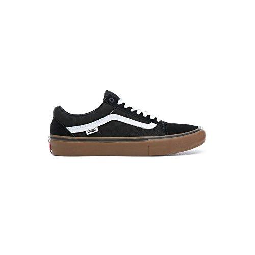 premium selection 74443 5449b  Vans Pro Skate Shoes MN Old Skool Pro Shoes - Black White Medium