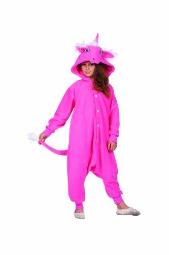 Diva Das rosa Einhorn-Kostüm für Kinder ()