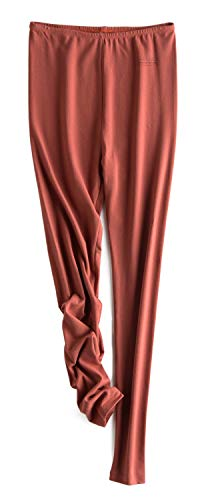 Baumwoll-leggings Frauen (Kuckuck Leggings Damen Baumwolle Leggins Rot High Waist Blickdicht für Sommer 4how w&tt)