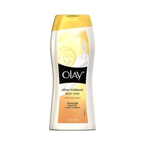 Olay Lotion lavante complète pour le corps - Pour peaux extra-sèches - Enrichi en beurre de karité - 355 ml