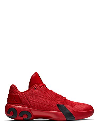 Nike Herren Jordan Ultra Fly 3 Low Basketballschuhe, Rot (Gym Red/Black 600), 43 EU