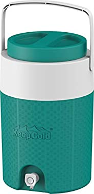 Cosmoplast Keep Cold Plastic Insulated Water Cooler 3 Gallon - 13 Litres
