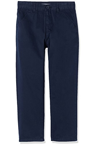 RED WAGON Jungen Chino-Hose, Blau (Navy), 110 (Herstellergröße: 5 Jahre)