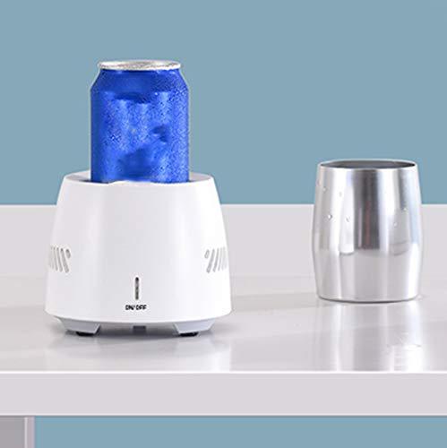 Hahuha  Kühlbecher Getränkekühler Schnellkühlender tragbarer Kühlschrank
