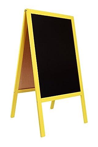 Panneaux Stop - Tableau noir STOP chevalet / enseigne pour