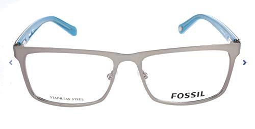 Fossil Brillengestelle FOS 6035 Rechteckig Brillengestelle 55, Mehrfarbig