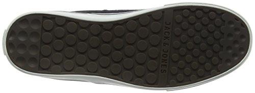 Jack & Jones Jfwshark Wool Combo Mid Sneaker, Baskets Basses Homme Gris - Grau (Anthracite)