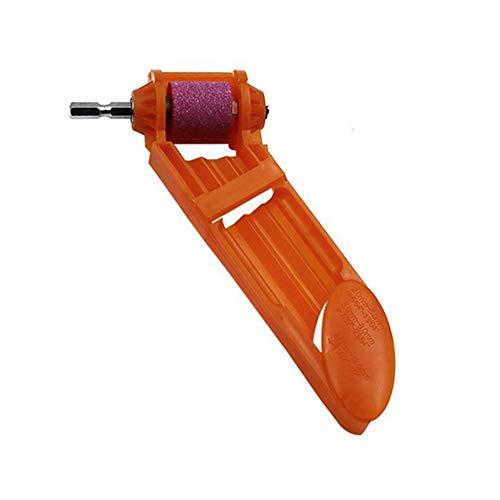 Bohrer Schärfgerät Tragbares Bohrwerkzeug Bohrerschleifer Grinding Wheel Drill Bit Sharpener (Orange) -