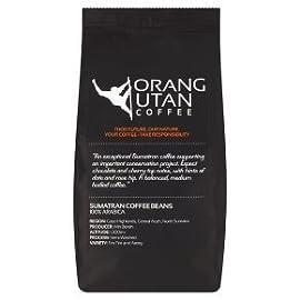 Indonesia Sumatra Orangutan Coffee Conservation Project Single Estate Coffee Beans (Whole Bean, 500g)