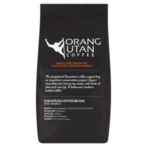 Indonesia Sumatra Orangutan Coffee Conservation Project Single Estate Coffee Beans, Whole Bean Coffee, 500g Bag Net Weight 31KuxixGqVL