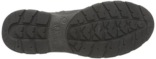 s.Oliver 46306, Sneaker alta Ragazzo Grigio (Grigio (grey 200))
