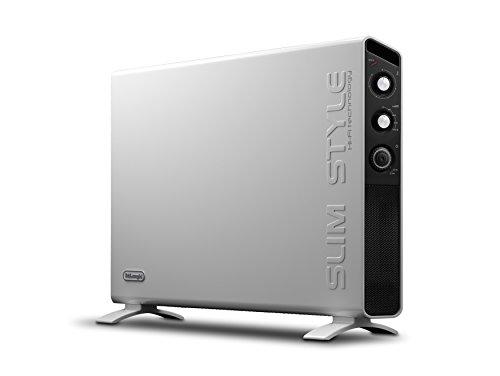De'Longhi HCX3220FTS Slim Style Convettore Elettrico, Bianco