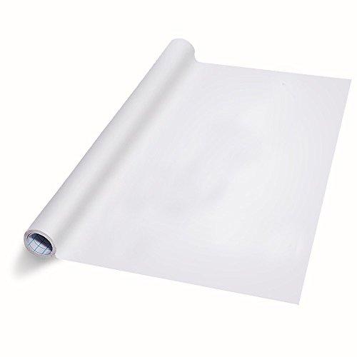 board-Wandaufkleber - trocken abwischbar abziehen und aufkleben Aufkleber für Klassenzimmer Zuhause und Büro + gratis Markierungsclip ()