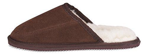 Di Muli 100 Stile Agnello Nordvek 445 E Cioccolato Uomo Pantofole Camoscio Lana xCBECqwRY