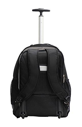 31Kv1Gl3UhL - Bolsa con Ruedas para Portatil Marqua Alistair Airo - 17 Pulgadas - Ultra Ligero - Color Negro
