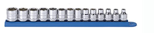 GearWrench 80552 14 Stück 3/8 Zoll Antrieb 6 Point Standard Metric Socket Set