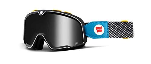 Masque Motocross 100 Percent Barstow Deus 17-Argent Mirror (Default , Gris)
