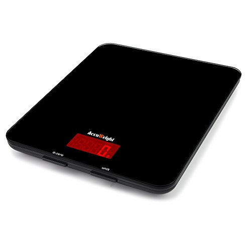 Accuweight b scula digital para cocina en amazon for Bascula cocina amazon