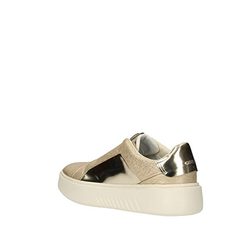 Geox D828DBKYBN Sneakers Donna Platino / Oro