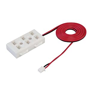 Alico Industries AC9-2-6 LED 72-Inch Harness Cable with Six Ports, Red Cable with White Port Box