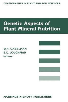 [(Genetic Aspects of Plant Mineral Nutrition : Proceedings of the Second International Symposium on Genetic Aspects of Plant Mineral Nutrition, Organized by the University of Wisconsin, Madison, June 16-20, 1985)] [Edited by W. H. Gabelman ] published on (October, 2011) par W. H. Gabelman