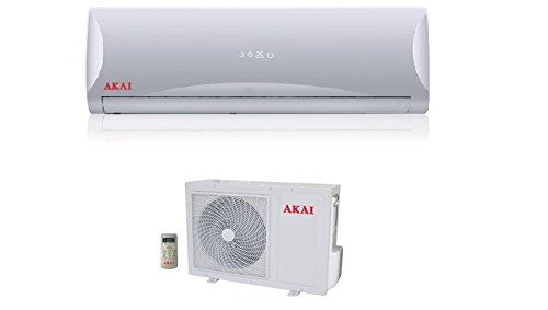 Aire acondicionado 12000BTU inalámbrico Inverter Clase A + + con motor incluye...