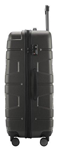 HAUPTSTADTKOFFER - X-Kölln - Hartschalen-Koffer Koffer Trolley Rollkoffer Reisekoffer, TSA, 76 cm, 120 Liter, Graphite matt - 5