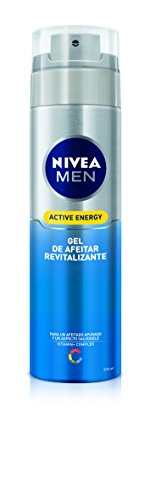 Nivea Men, Gel pre-depilación y afeitado (revitalizante, piel normal) - 200 ml.