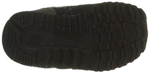 New Balance 420 Hook and Loop, Baskets Basses Mixte Enfant Noir (Black/Grey/003)