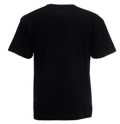 Fruit of the Loom T-Shirt 'Original Full Cut' 61–082–0 Schwarz - Schwarz