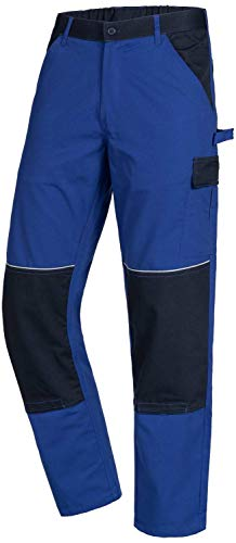 ACE Motion Tex Light Männer-Arbeitshosen - Cargohose mit Gummizug - Blau - 110
