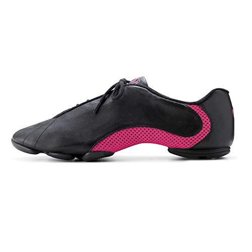 Bloch S0570 Schwarz / Rosa Amalgam Sneaker EU 38.5, UK Ad 5.5