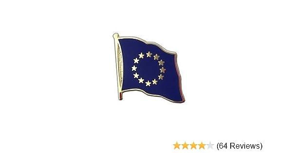 UK HELD STOCK FAST DISPATCH EUROPEAN UNION FLAG BREXIT METAL PIN LAPEL BADGE