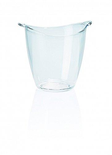 My-Gastro Sektkühler Acryl Weinkühler 4 Liter Eiskübel Ø 21cm Eiseimer Flaschenkühler Wein Design