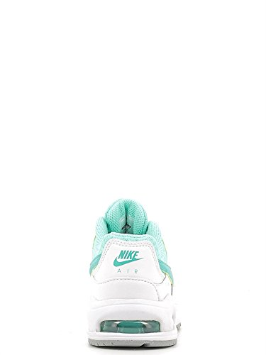 Nike Air Max Command Flex Ltr Ps, Chaussures de Running Entrainement Fille Blanco (White / Clear Jade-Hyper Turq)