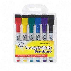 Quartet - Dry-Erase Markers,w/ Magnet, 10-2/5quot;x6-10/13quot;x8-9/11quot;, AST, Sold as 1 Set, QRT 51659312Q by Quartet