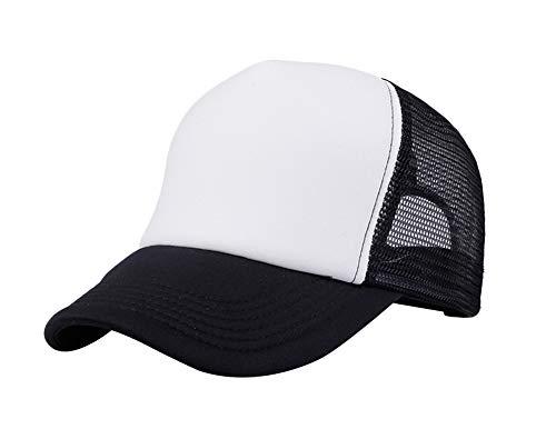 Leisial Mujer Casual Gorra de Béisbol de Viajes Hats Hip-Hop Sombrero Sol al Aire Libre Tenis Deporte Golf Verano para Unisex Hombre Mujer,Negro (#1)