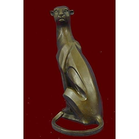 Escultura bronce estatua...Envío gratis...Arte Moderno Extra Grande del león de montaña de Henry Moore(YCN-042-JP)Estatuas estatuilla estatuillas desnuda Oficina y Decoración del hogar Coleccionables