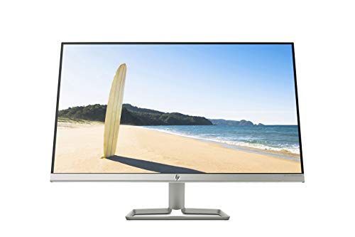 "HP 27fwa - Monitor Full HD de 27"" (1920 x 1080, Panel IPS LED, 16:9, HDMI 1.4, VGA, 5 ms, 60 Hz, AMD FreeSync, Altavoces incorporados), Color Blanco Nieve"