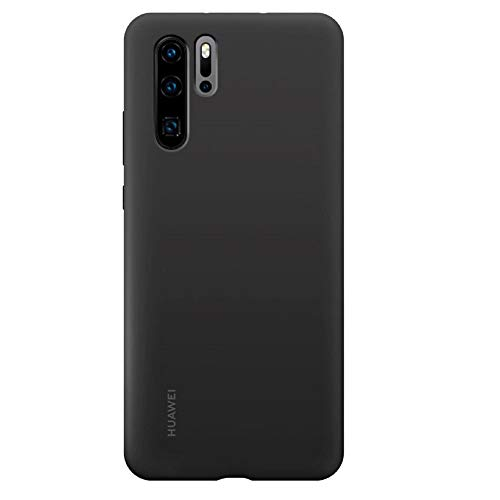 Huawei 51992872 Cover Silicone Case P30 Pro, Schwarz -