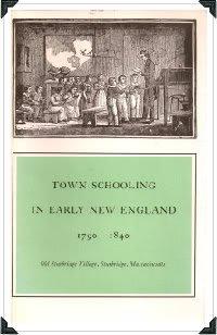 Sturbridge-serie (Town schooling in early New England, 1790-1840, (Old Sturbridge Village booklet series))