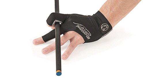 Handschuh, Predator Second Skin, 3-Finger, schwarz-grau Größe S&M