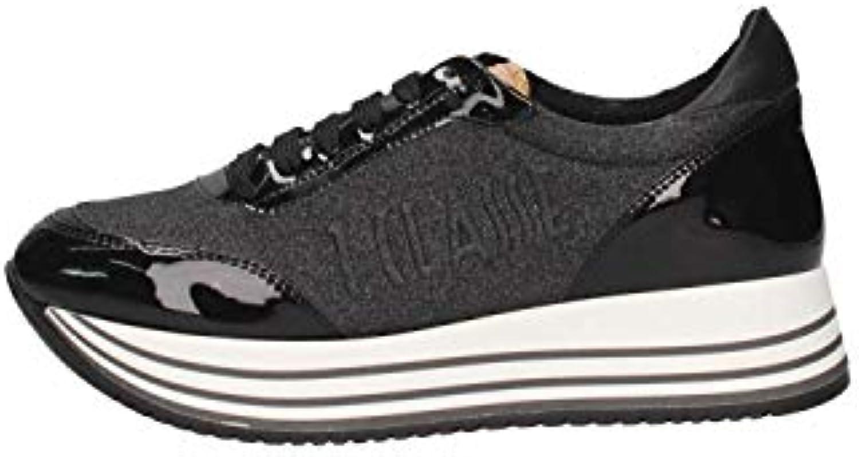 Alviero Martini Prima Classe , Z 9855 508B,scarpe da da da ginnastica Donna in Tessuto Lurex,Vernice e Pelle Stampa Geo Classic | Discount  9d8786